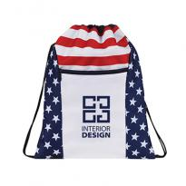 32953 - Patriotic Drawstring Backpack