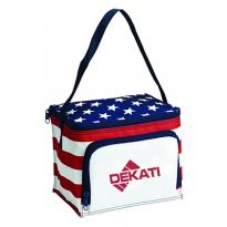 32955 - Stars & Stripes 6 Can Cooler Bag