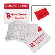 promotional my medical history organizer