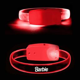 Gecko LED Bracelet - Red