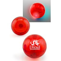 Lighted Air Throw Ball - Red
