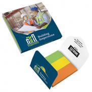 promotional post-it® extreme markers with cover - 25 unprited sheets