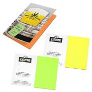 promotional post-it® extreme xl notes with cover - 45 unprinted sheets
