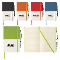 "33174 - 5"" x 8"" Two Tone Bound Notebook"