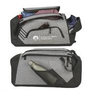 promotional sebring convertible graphite duffel bag
