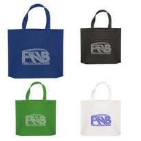33215 - Thrifty Non Woven Tote with Sparkle Imprint