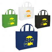 promotional giant saver non woven tote - full color