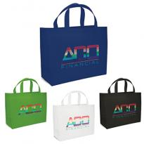 33218 - Giant Saver Non Woven Tote with Sparkle Imprint