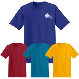 Hanes® - EcoSmart® 50/50 Cotton/Poly T-Shirt (Color)