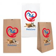 promotional 20# sos paper bag - full color