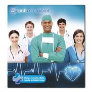promotional 7.5 x 8 antimicrobial mousepad