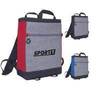 promotional two-tone quick daypack