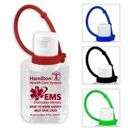 promotional 2 oz. hand sanitizer with leash