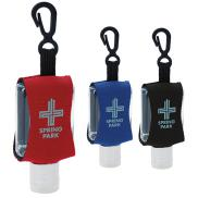 promotional .5 oz. hand sanitizer with leash