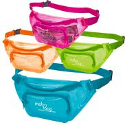 promotional translucent color fanny pack