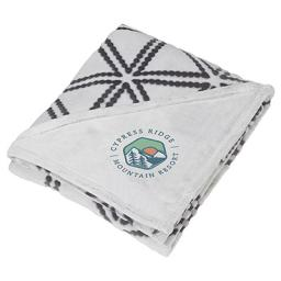 Sculpture Print Ultra Plush Blanket