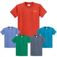 promotional port & company  6.1 oz. t-shirt (color)