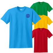 promotional gildan® - dryblend® 50 cotton/50 poly t-shirt (color)
