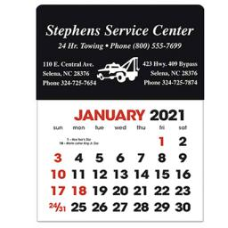 Stick-Up Calendars (Rectangle Shape)