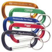 promotional carabiner key ring