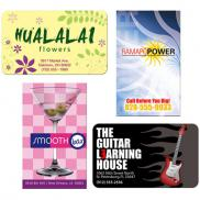 promotional bic® jumbo business card magnet 20 mil