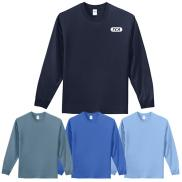 promotional port & company® - long sleeve essential tee (color)
