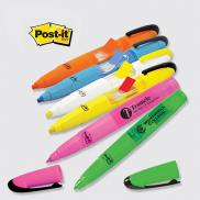 promotional post-it® custom printed flag+ highlighter