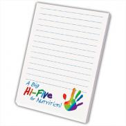 promotional 4 x 6 full color post-it® notes (25 sheets)