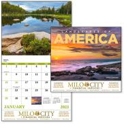 promotional landscapes of america calendar