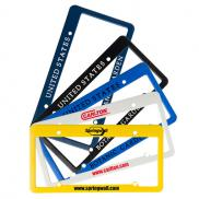 promotional license plate frame 2