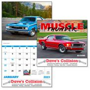 promotional muscle thunder calendar