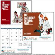 promotional saturday evening post norman rockwell calendar