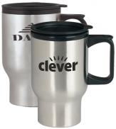 promotional 17 oz. stainless steel mug