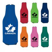 promotional koozie® zip-up bottle kooler