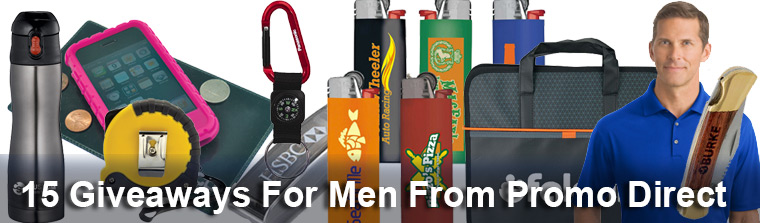 15 Giveaways For Men From Promo Direct