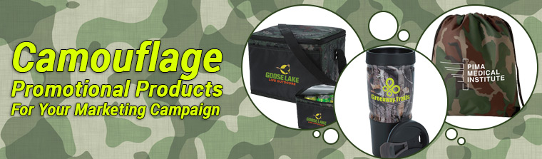 Camouflage Promotional Products For Your Next Marketing Campaign