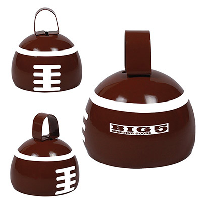 Promotional Football Cow Bell