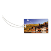 Slip-In Pocket Luggage Tag