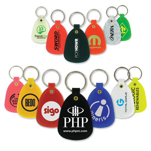 promotional plastic key chains & holders
