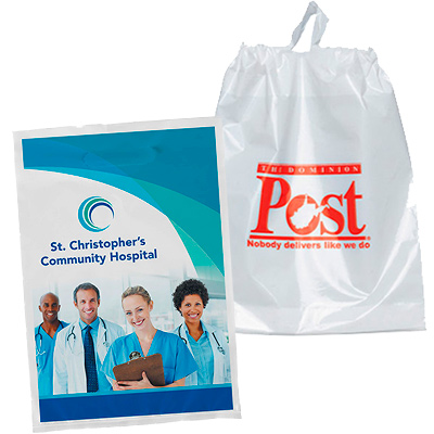promotional plastic bags