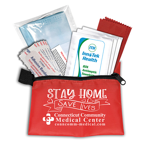 promotional bandage dispensers & first aid