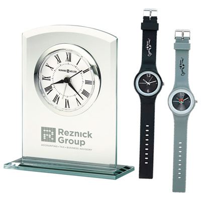 promotional clocks & watches