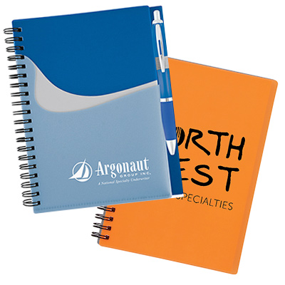 promotional notebooks & journals