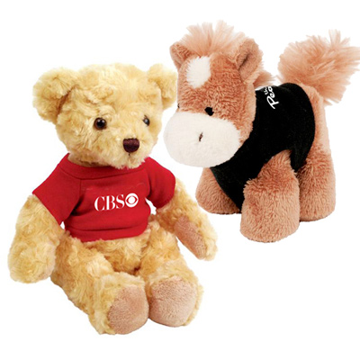 promotional soft toys & stuffed animals