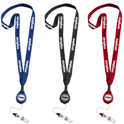 promotional lanyards & badgeholders