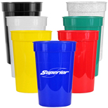 bulk promo sports bottles, custom imprinted plastic cups