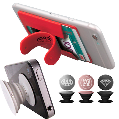 promotional phone & media stands
