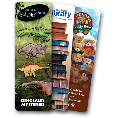 promotional bookmarks & booklights