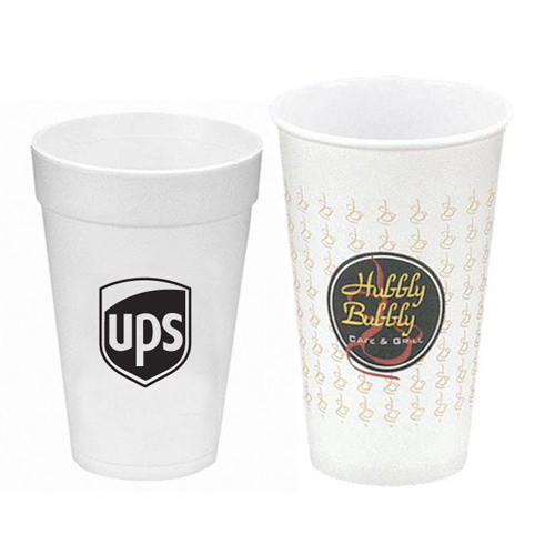 promotional paper & foam cups