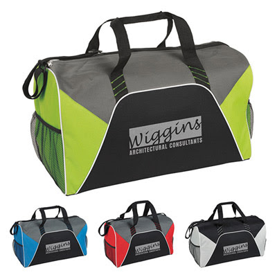 promotional free 24 hour rush sport & duffle bags